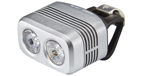 Knog Blinder Road 400 fietsverlichting witte LED zilver